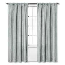 Black And White Curtain Designs Nate Berkus Curtains Target