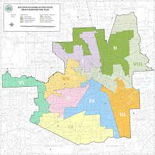 Map Houston Houston District Redrawing Voting Map U2013 Houston Public Media