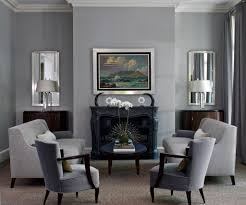 Blue And Grey Living Room Ideas by Blue Black Grey Living Room Flower Painting Wood Burner Fireplace