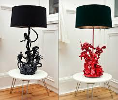 evil robot bespoke lamps cool material