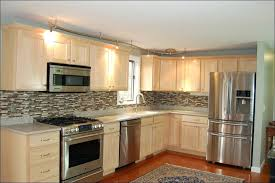 oak kitchen cabinets painted antique white before and after