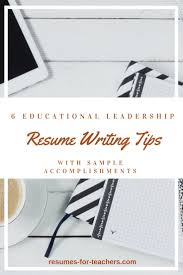 Resume Sample Achievement Statements by 110 Best Teacher And Principal Resume Samples Images On Pinterest