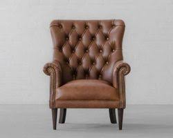 Leather Tufted Sofa Leather Furniture Manufacturer From Jodhpur