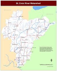 map st croix watershed map st croix river association
