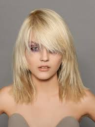 haircuts for medium straight hair with bangs hairstyle picture magz