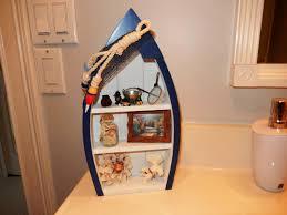 handmade boat bookcase new furniture