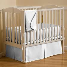Solid Wood Mini Crib by Solid White Portable Crib Bedding Carousel Designs