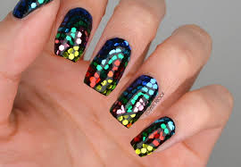 38 stain glass designs using nail polish stylepics