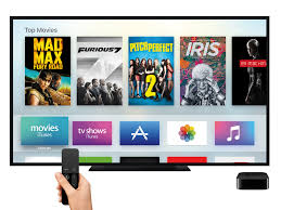 apple tv review new set top box u0027s redesigned interface gets the