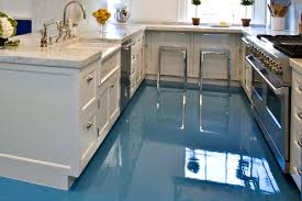 Painted Kitchen Floor Ideas Epoxy Vs Tile Kitchen Floor Home Gallery And Picture Getflyerz Com