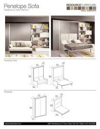 Wall Bed Sofa by The Ulisse Sofa Is A Queen Size Wall Bed
