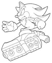 supersonic coloring pages colouring pinterest hedgehogs