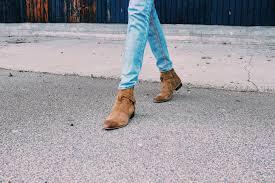tan suede buckle boots by topman niima melusi boa