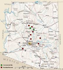 map of az arizona ruins home