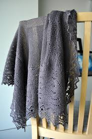 shawl stockinette