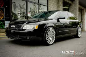 lexus rotiform audi a4 with 19in rotiform blq wheels exclusively from butler