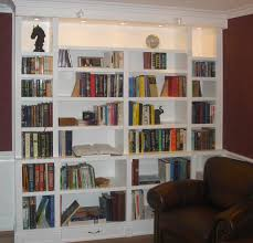 white built in bookcases wall mounted bathroom