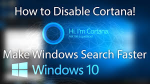 Windows Search Box - how to disable cortana and web results in search box windows 10