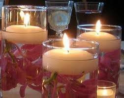 wedding candle centerpieces candle wedding centerpieces