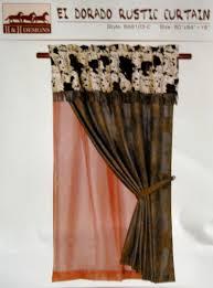 amazon com western curtain cowprint home u0026 kitchen