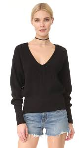 free people allure pullover black women clothing sweaters knits