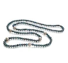 black necklace with pearl images Real black freshwater pearl necklace for sale buy online at jpg