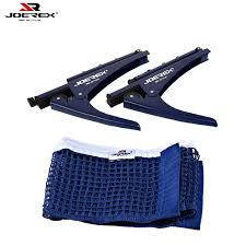 portable table tennis table joerex portable table tennis net cl stand set ping pong