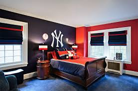 Red And Blue Bedroom | 20 bold bedrooms in blue red and white colors home design lover