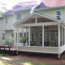How To Close In A Covered Patio This Open Porch Looks Like It Has Been There Forever With Its
