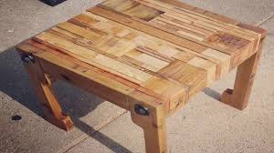 How To Make A Dining Room Table How To Build A Dining Room Table Out Of Pallets Youtube