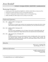 sle cover letter for caregiver 28 images aged care resume sles