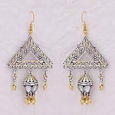 jhumka earrings online shopping earrings online shopping fashion polki danglers pearl