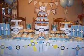 Centerpieces For Boy Baptism by Christening Decorations Canada Main Decorations For Christening