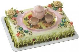 cake decorating kits u0026 toppers be girly tea party cake topper set