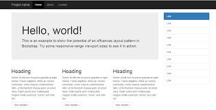 right sidebar free bootstrap right sidebar templates techfolks net