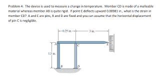 what is chagne made of solved the device is used to measure a change in temperat