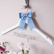 Something New Something Old Something Borrowed Something Blue Ideas Something Old Something New U2026 Wedding Hanger By Clouds And
