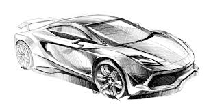 supercar drawing how to draw cars set 1 download car design pro