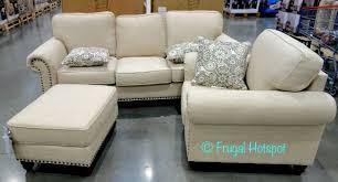 synergy home fabric sofa chair ottoman set costco