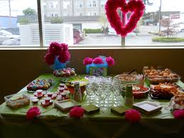bridal shower table decorations diy food table decorations home decor 2018
