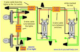 astounding 3 way switch wiring diagram house electrical wiring