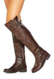 justfab s boots isidore in cognac get great deals at justfab