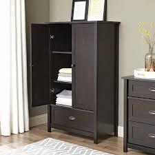 armoire espresso wardrobe armoire furniture s wardrobes dresser