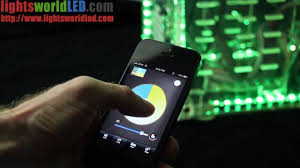 Wireless Led Strip Lights by Android Iphone Wifi Led Rgb Wireless Strip Lights Controller