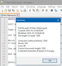 Count Words In A Text Document Find The Amount Of Words Chars And Lines In A Text File