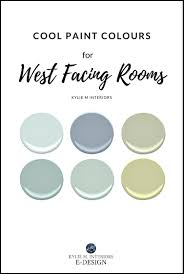 best paint colours for west facing room exposure benjamin moore
