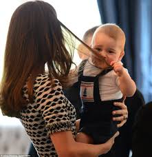 will prince george finally persuade kate middleton to cut her hair
