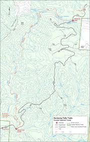 Fall Creek Falls Map Siuslaw National Forest Trail Maps