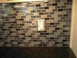 home design pyramid glass tile backsplash ideas bathroom mosaic