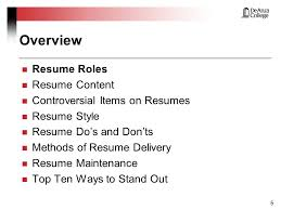 Ways To Make Resume Stand Out Making Yours Stand Out From The Masses Ppt Download